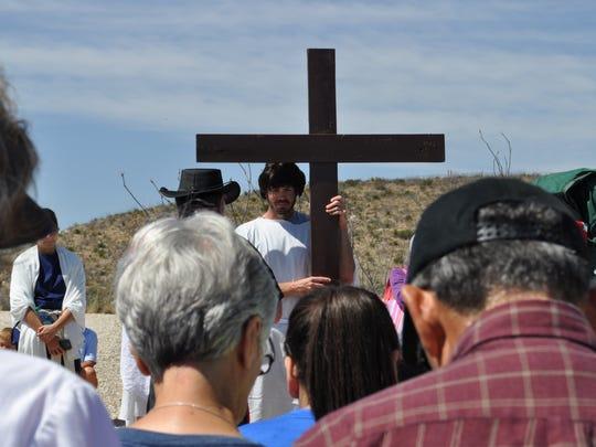Parker Kimbley, a member of St. Edward Catholic Church,