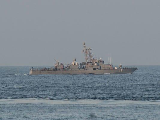 EPA AT SEA USA IRAN INCIDENT POL DEFENCE ---