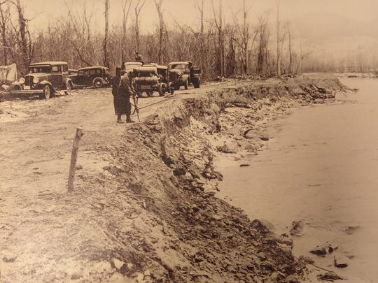 Historic photo of Vermont's regional Soil Conservation