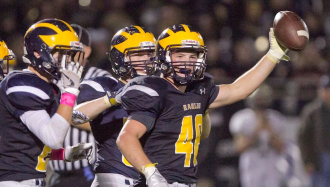 Hartland's Tommy Lappin led Livingston County with 132 tackles and was third in rushing with 681 yards.