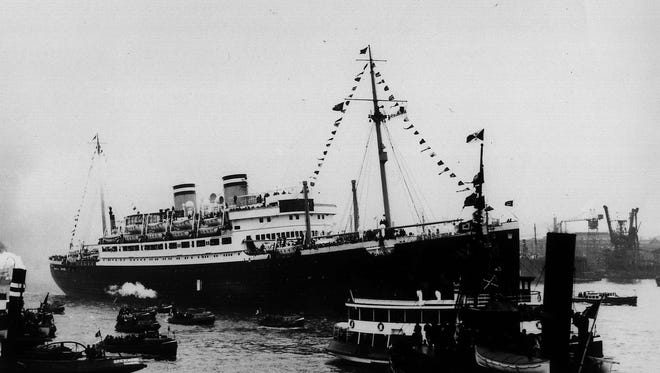The SS St. Louis.