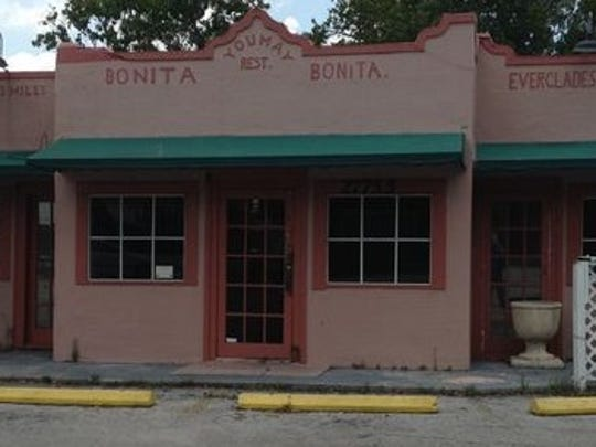 An historic former gas station and corner store which was most recently the Dixie Moon Cafe will be moved from its site at U.S. 41 and Dean Road to make way for a major downtown development, the first in the attempt to revitalize downtown Bonita Springs.