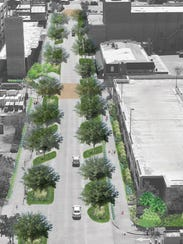 A concept image shows what Jefferson Street could look