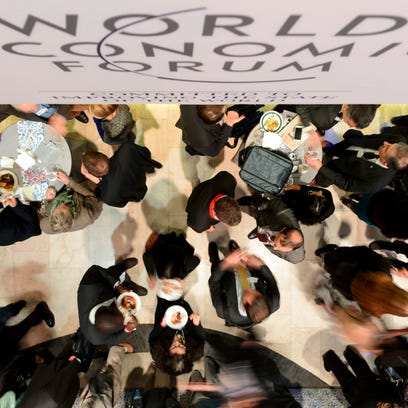World Economic Forum 2015 meeting