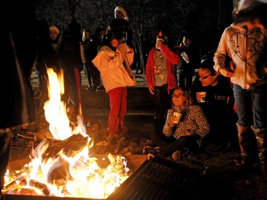 Camp Fire Christmas