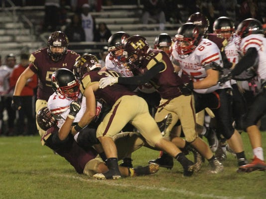 Licking Heights 28, St. Charles 7