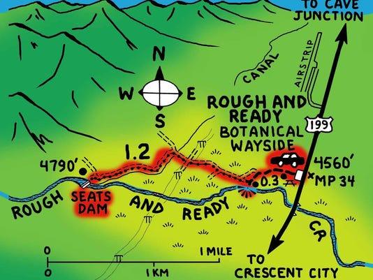 SlideShowmap77 Rough and Ready Creek2