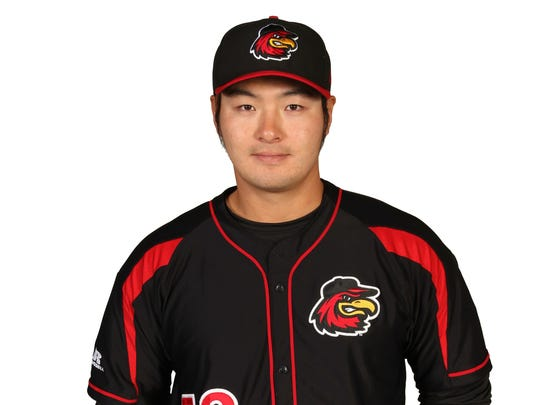 ByungHo Park, Red Wings infielder