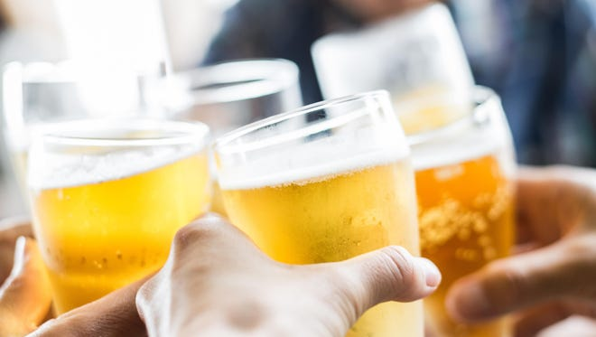 As we age, our bodies become more sensitive to the effects of alcohol. After age 65, one alcoholic beverage is like three in a younger person. The effect of one drink is tripled.