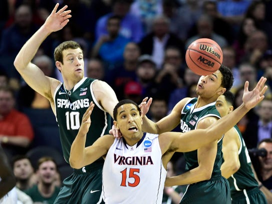 Michigan State has beaten Virginia in the past two