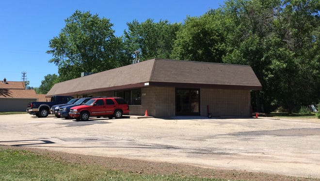 Readers ask about work being done on a former Domino's/Curves building in Menasha. File.