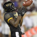 Southern Miss receiver Mike Thomas is expected to return from injury against Texas State on Saturday.