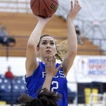Trista Magee had 13 points, six rebounds and three assists as Presbyterian Christian beat Veritas 42-33 on Thursday.