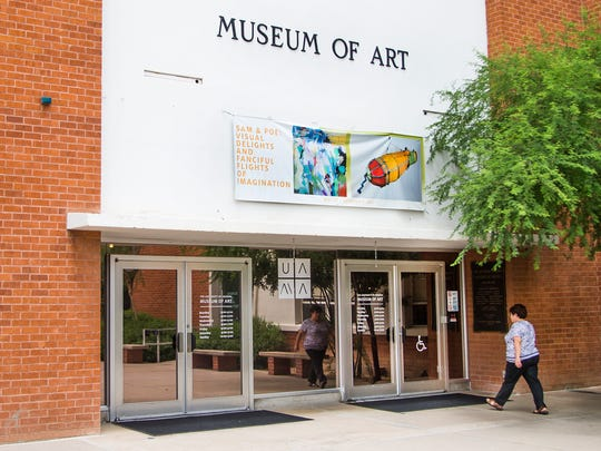 """This is the University of Arizona Museum of Art where """"Woman-Ochre,"""" a painting by Willem de Kooning,  was stolen in a brazen heist in 1985. Photo taken Thursday, August 10, 2017."""