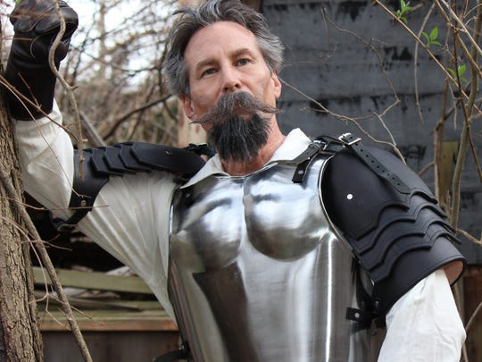 'Man of La Mancha,' starring John D. Smitherman as Don Quixote, is a play-within-a-play based on Cervantes' famous novel.