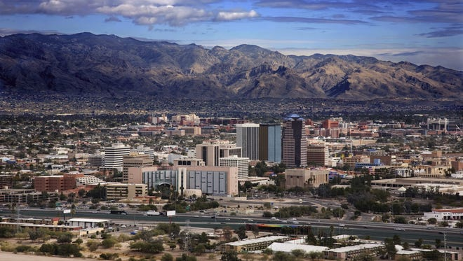 View of downtown Tucson.