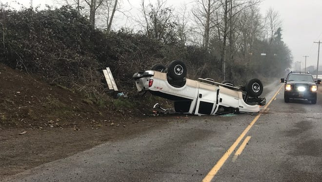The Marion County Sheriff's Office responded to a single vehicle rollover crash early Saturday morning.