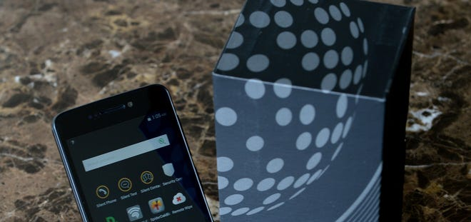 The Blackphone is a mobile phone built with extra security.