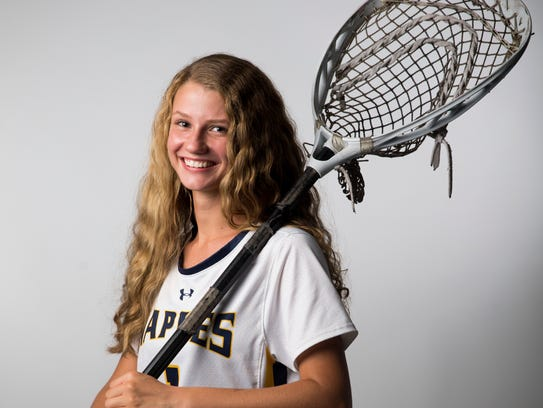 Naples High School lacrosse player Kyleigh Chickering.