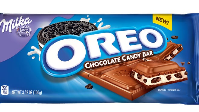 The Oreo Chocolate Candy Bar will hit shelves in January 2017.