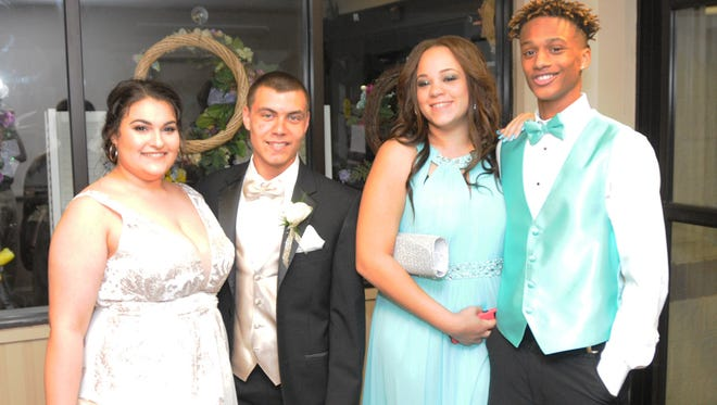 Caesar Rodney High School prom held Saturday May 5, 2018 at the Modern Maturity Center in Dover.