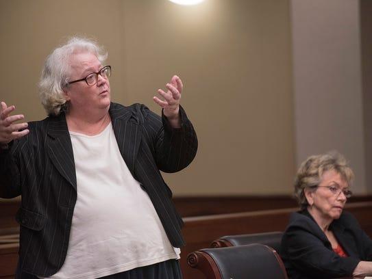 Defense attorney Colleen Murphy offers her final defense