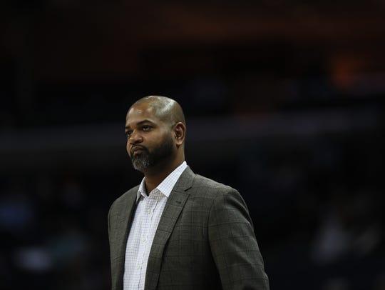 December 11, 2017 - Memphis Grizzlies interim head