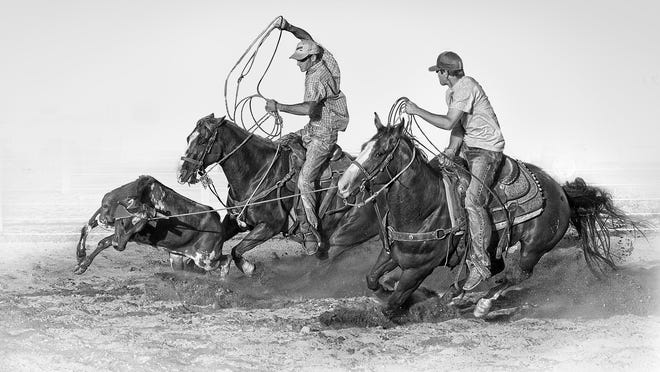 """""""Working Cowboys"""" by Larry Lewis"""