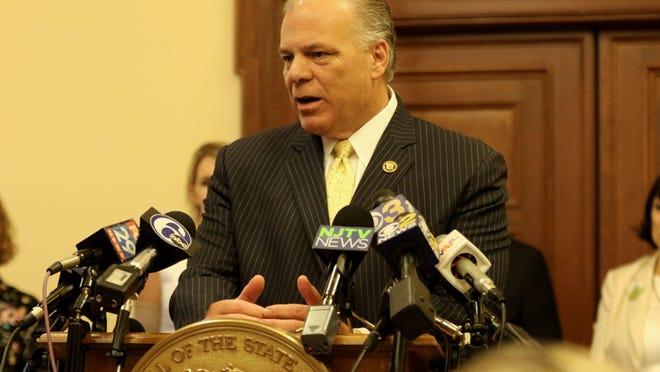 Senate President Stephen Sweeney