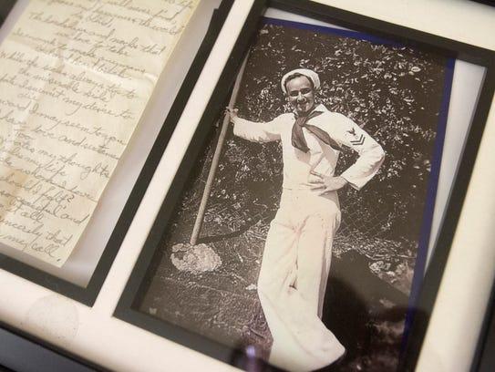 As a young sailor, Pearl Harbor survivor John Gideon