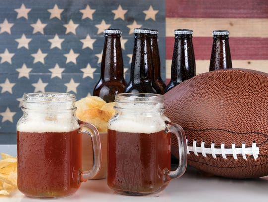 Baseball might be America's pastime, but not on Super Bowl Sunday, when beer and football are a winning match up.