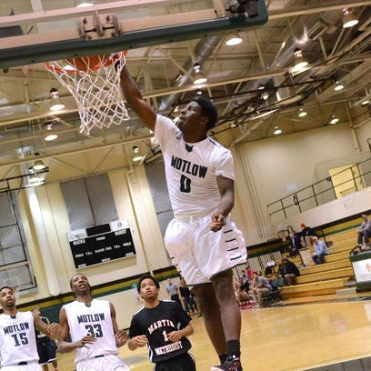 Jaylen Barford (0) played for Motlow State Community