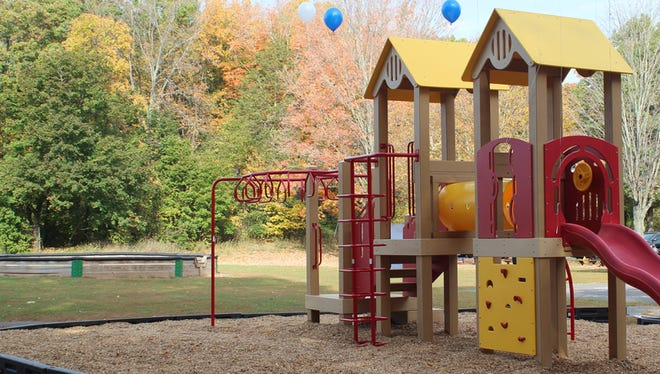 South Jersey schools contend for a recycled playground like this one.