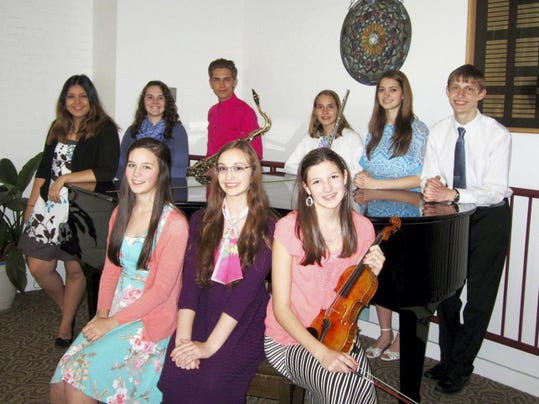 Graduating seniors and merit award winners at Cumberland Valley School of Music will present a Recognition Concert April 26 in Thomson Hall, Wilson College.