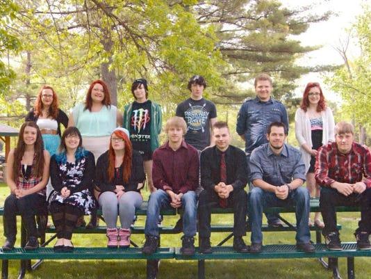 Marshfield Alternative School class of 2015