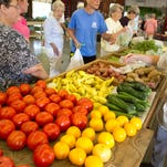 Greenville State Farmers Market on Rutherford rd. Saturday morning.