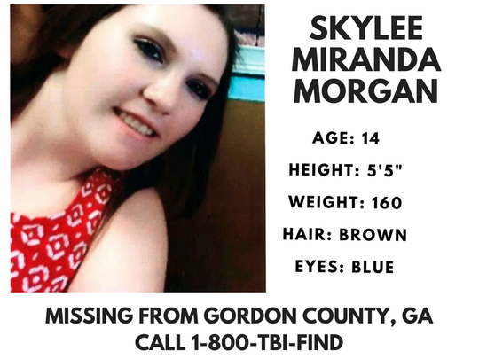 An Amber Alert was issued for Skylee Miranda Morgan