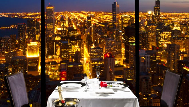 Enjoy the ultimate 360-degree views of Chicago at the top of the John Hancock Center in The Signature Room at the 95th.