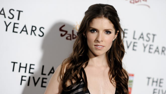 """Actress Anna Kendrick arrives at the L.A. Premiere of  """"The Last Five Years"""" in Los Angeles."""