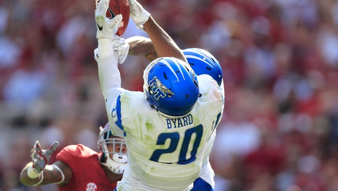 Kevin Byard (20) and others are just a few months away from potentially living their NFL dreams.