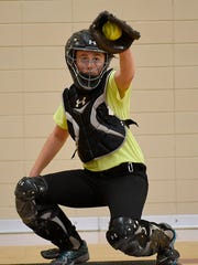 Senior Anna Dixon, a four-year varsity player, owns a stellar .491 career batting average and will be a leader on the Mercy softball team this season.