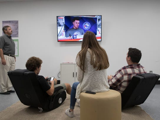 Brick Towship  opened a new teen center called Lounge