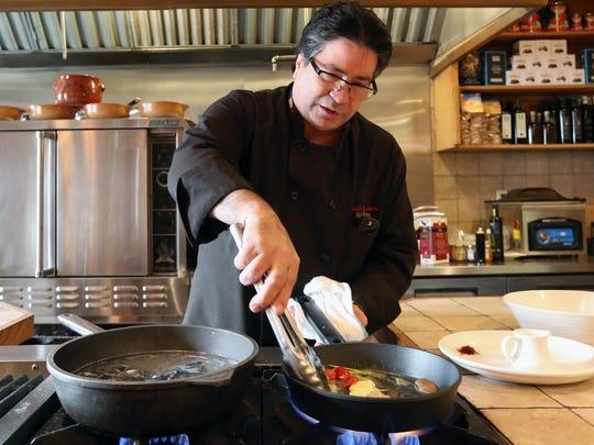 Marcello Russodivito makes a Black Squid Ink Ravioli