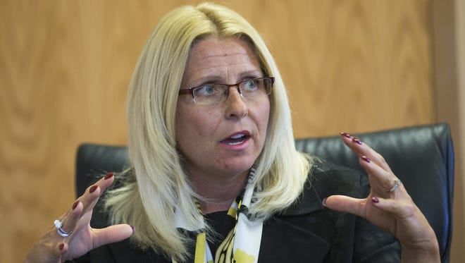 Sharon Helman, once the director of the Phoenix VA hospital, was formally fired in November 2014. Her firing has been overturned by a federal appellate court.