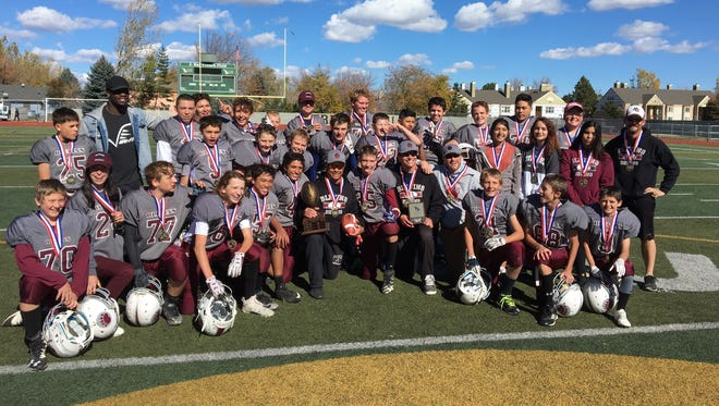 Blevins Middle School won the Poudre School District League's eighth-grade championship game Saturday at French Field.