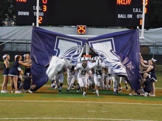 The Maclay football team qualified for the FHSAA playoffs for the first time last fall, securing points for the school in its recent FHSAA Sunshine Cup All-Sport Award.