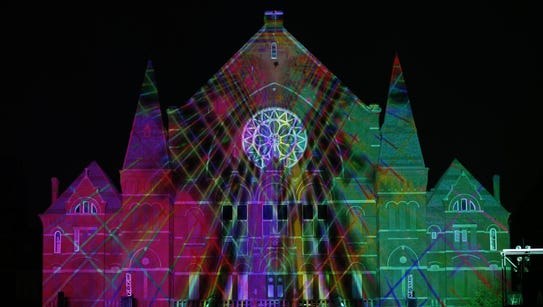 Lumenocity 2014 lights up Music Hall.