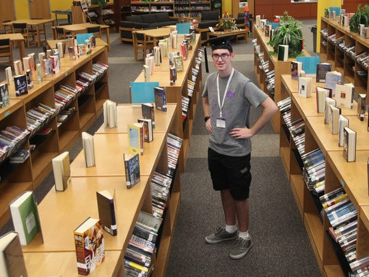 Turner Christopher Davis, a 10th grader from East Lee County High School, has accumulated enough credits to graduate from high school this year. He will be attending Florida Polytechnic University.