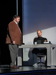 "Garrett Sorenson and Edward Parks in ""The (R)evolution"