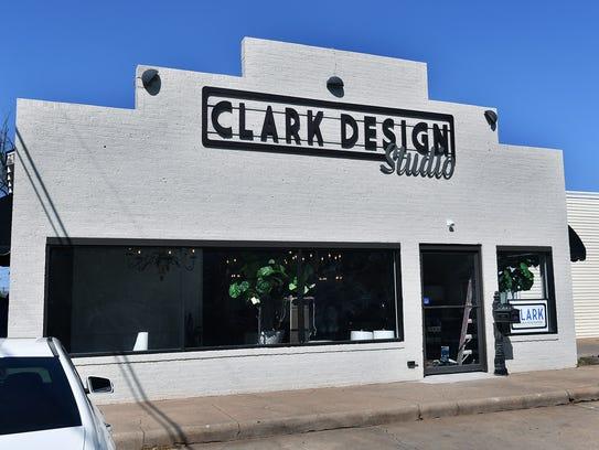 Clark Design Studio is one of three new businesses